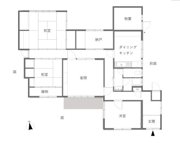 宝塚市山本台Before間取り図